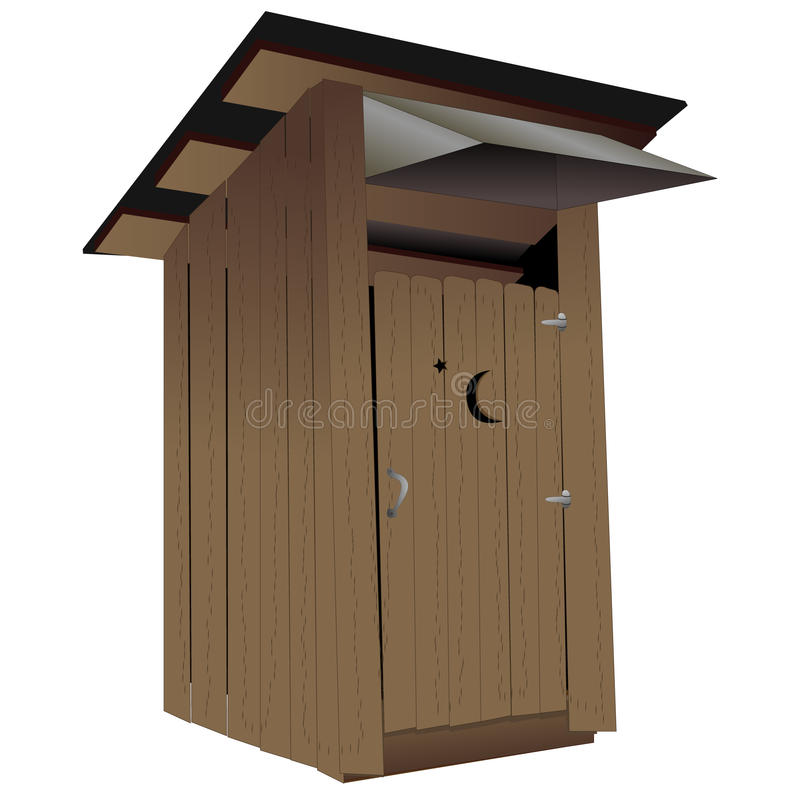 Outhouse απεικόνιση αποθεμάτων