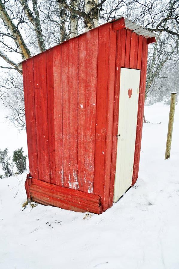 Outhouse zdjęcie royalty free