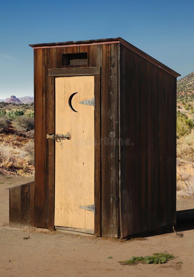 outhouse стоковая фотография rf