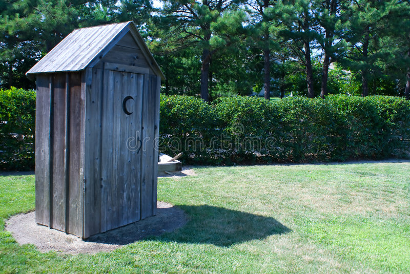 Download Outhouse stock image. Image of potty, mensroom, womansroom - 5744123