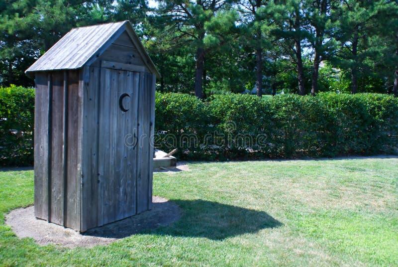 outhouse стоковые фото