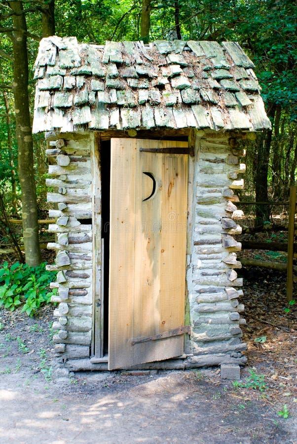 outhouse стоковое изображение