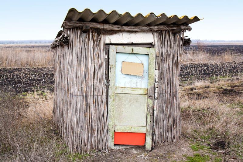 outhouse wiejski zdjęcie royalty free