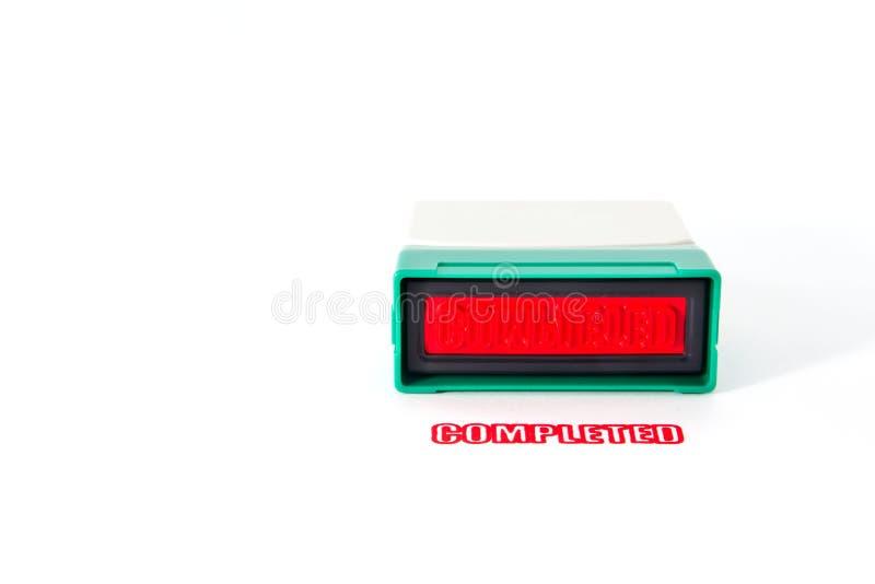 Outil d'estampille de main photos libres de droits