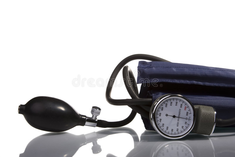 Outil de mesure d'hypertension photographie stock