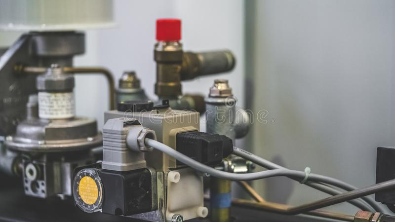 Outil mécanique industriel d'instrument de moteur image stock