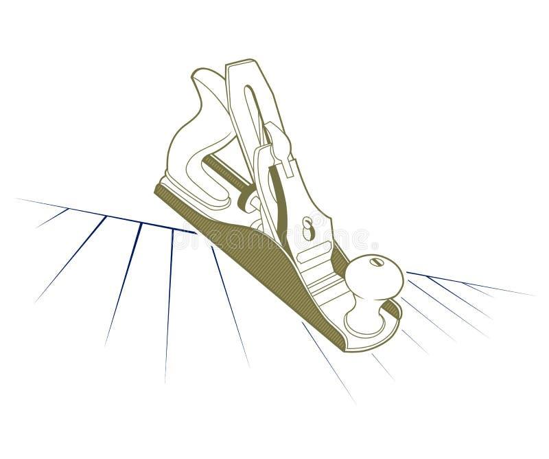 Outil plat illustration de vecteur