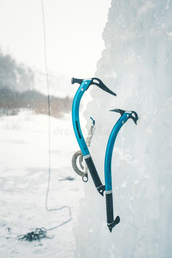 Outil s'élevant de glace photos libres de droits