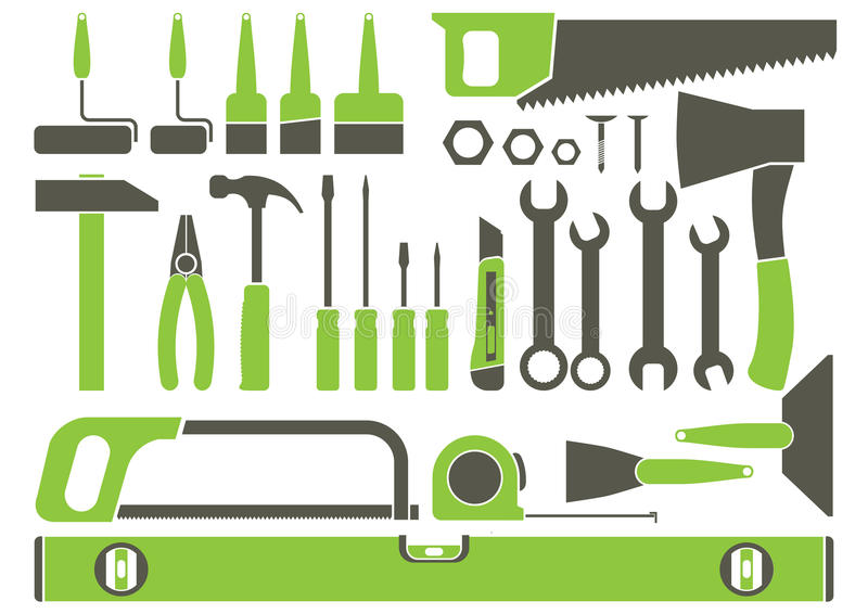 Outils à main  illustration de vecteur