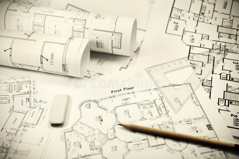 Outils architecturaux photo libre de droits