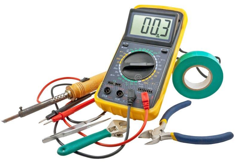 Outils d'électriciens images stock