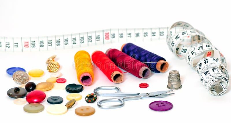 Outils d'amorçage de couture images stock