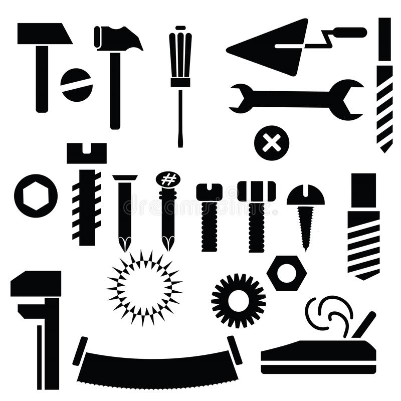 Outils de bricolage illustration stock