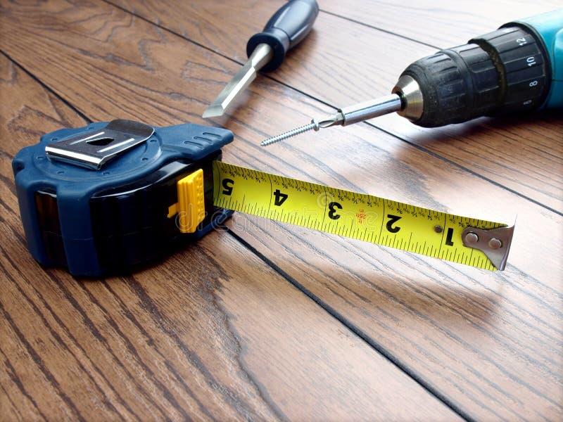 Outils de charpentier photos stock