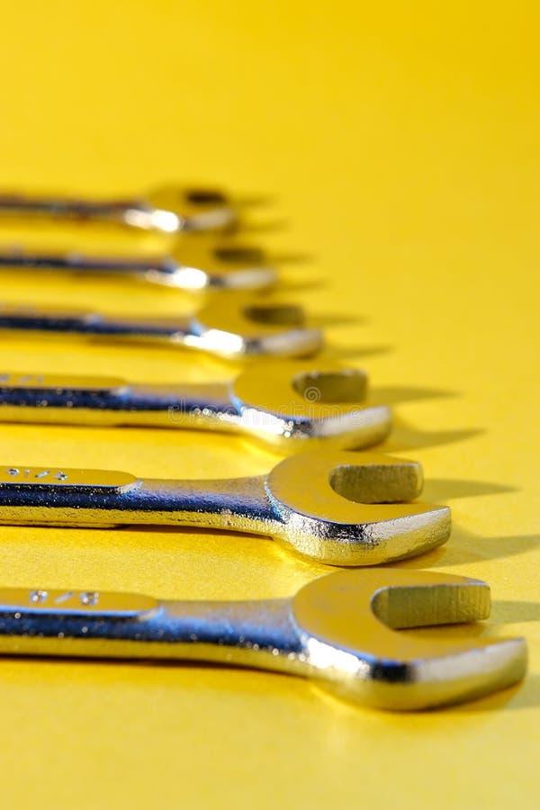 Outils de clé image stock