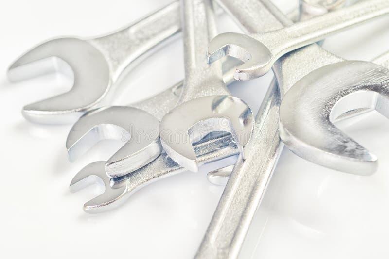 Outils de clé de mâchoire de clé photos libres de droits