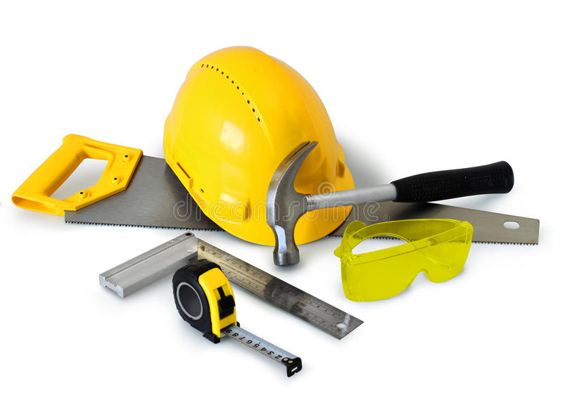 Outils de construction photos libres de droits