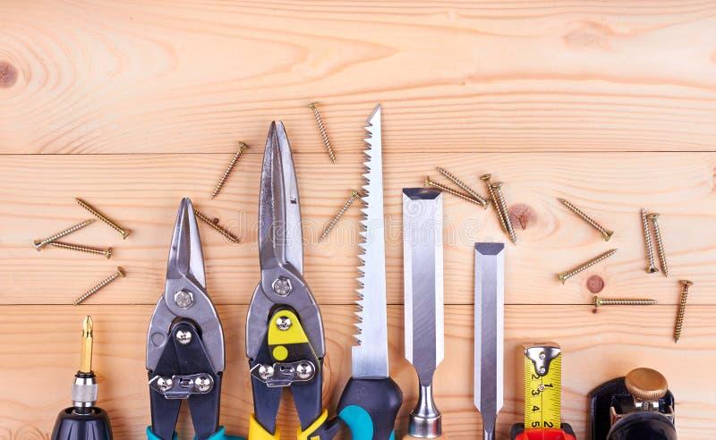 Outils de construction image stock