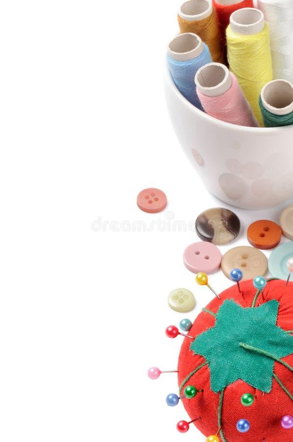 Outils de couture photos stock
