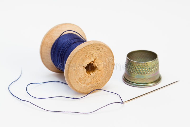 Outils de couture images libres de droits