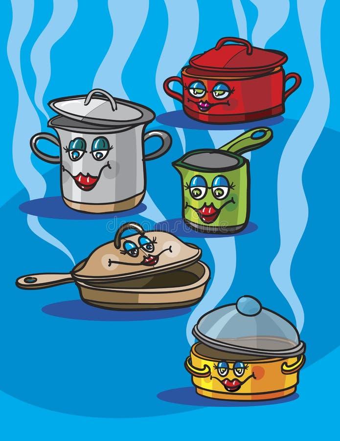 Outils de cuisine illustration de vecteur illustration du for Outil de conception cuisine