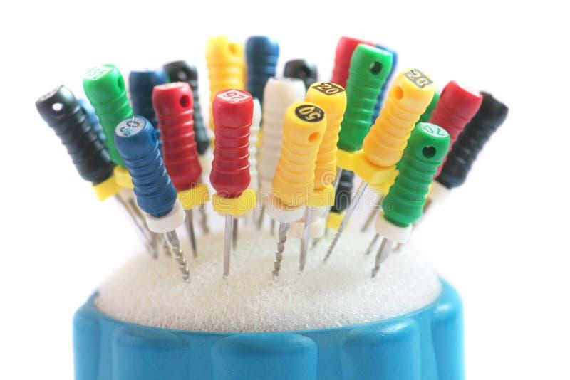 Outils de dentiste. photo stock