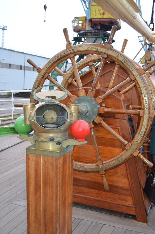 Outils de gestion de bateau images libres de droits