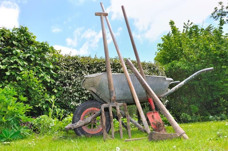 Outils de jardinage photo libre de droits