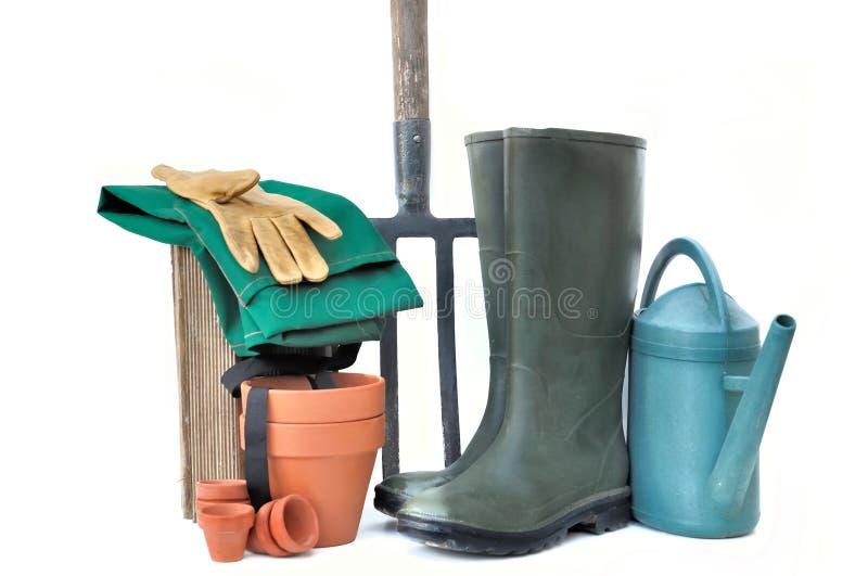 Outils de jardinage photos libres de droits