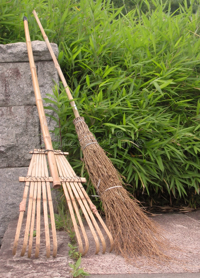 Outils de jardinage images stock