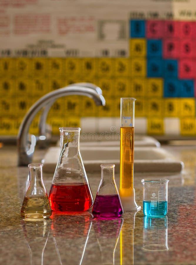 Outils 6 de laboratoire photo stock