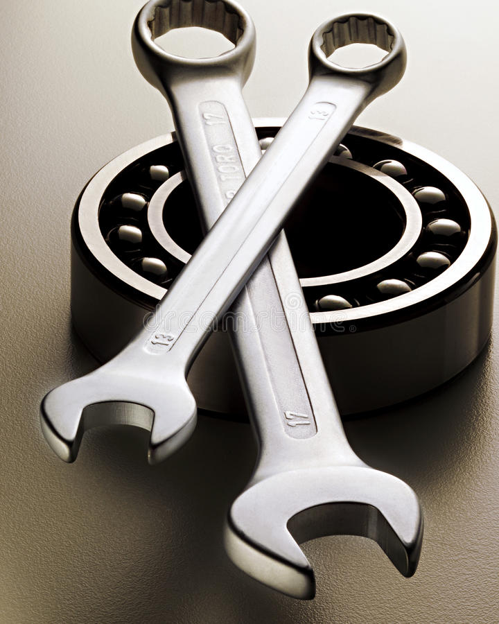Outils de mécanicien photographie stock libre de droits