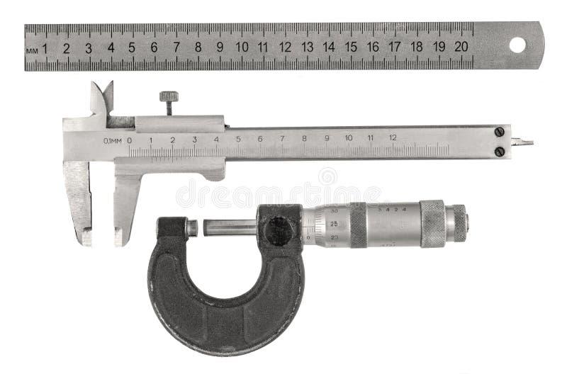 Outils de mesure images libres de droits