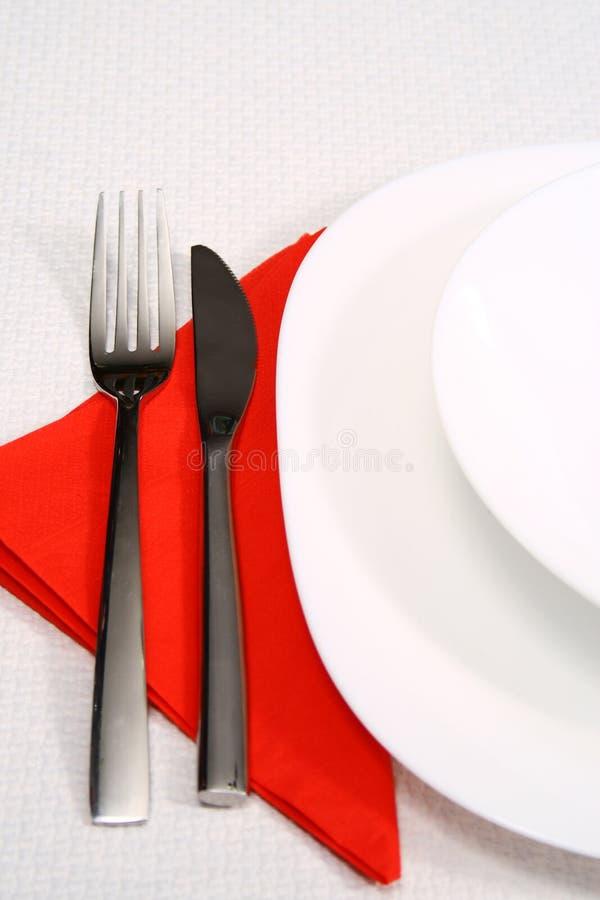 Outils de restaurant pour le déjeuner images stock