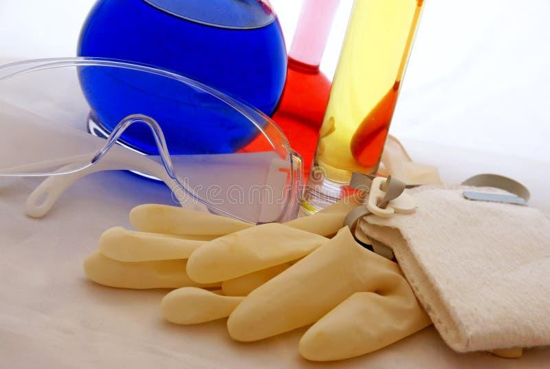 Outils de sécurité chimique images stock