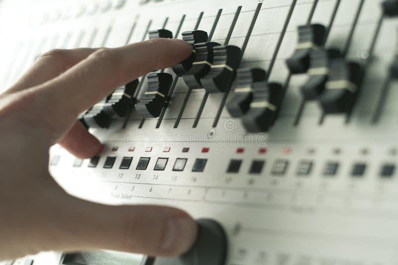 Outils du DJ images libres de droits