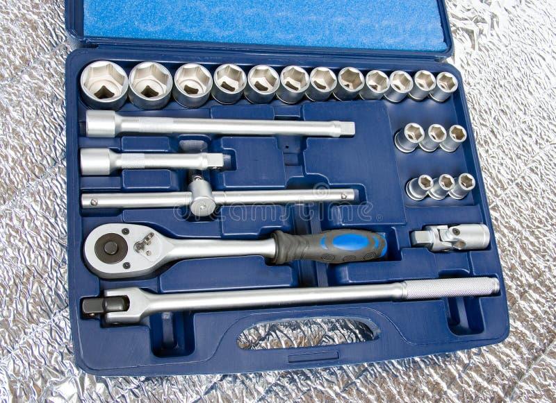outils métalliques de positionnement images stock
