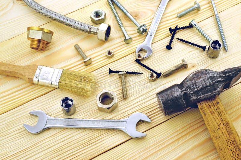Outils pour la réparation images stock
