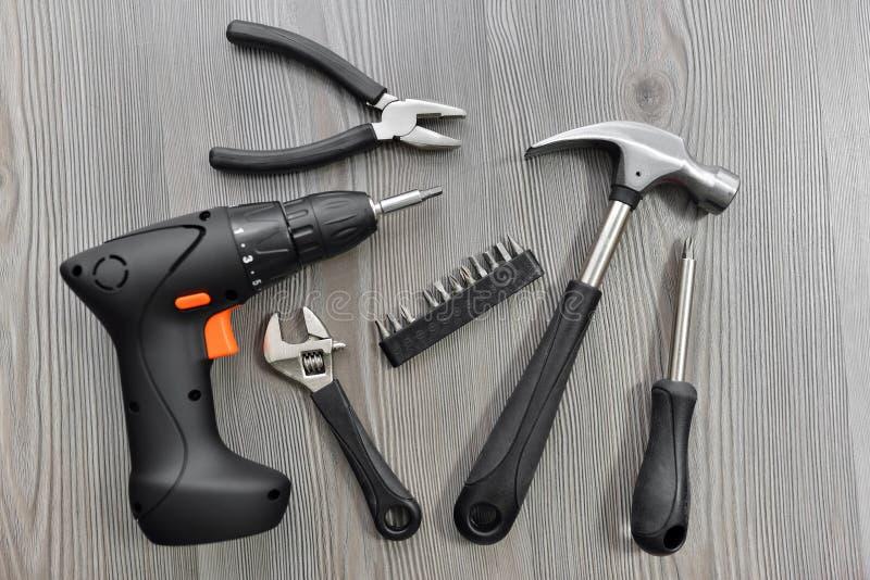 Outils pour le travail image stock