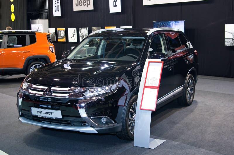 Outlander de Mitsubishi photo stock