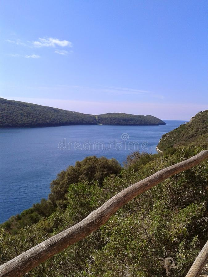 Outlands in Croatia stock photography