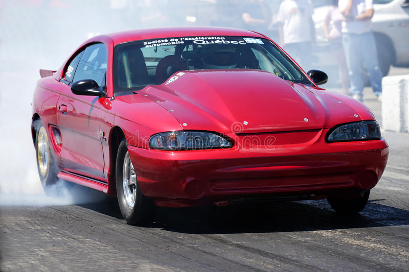 Mustang Drag Car Stock Images - Download 480 Royalty Free Photos