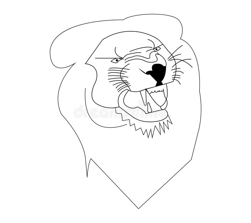 Roaring Lion Outline Stock Illustrations 217 Roaring Lion Outline Stock Illustrations Vectors Clipart Dreamstime Black and white lion outline. roaring lion outline stock