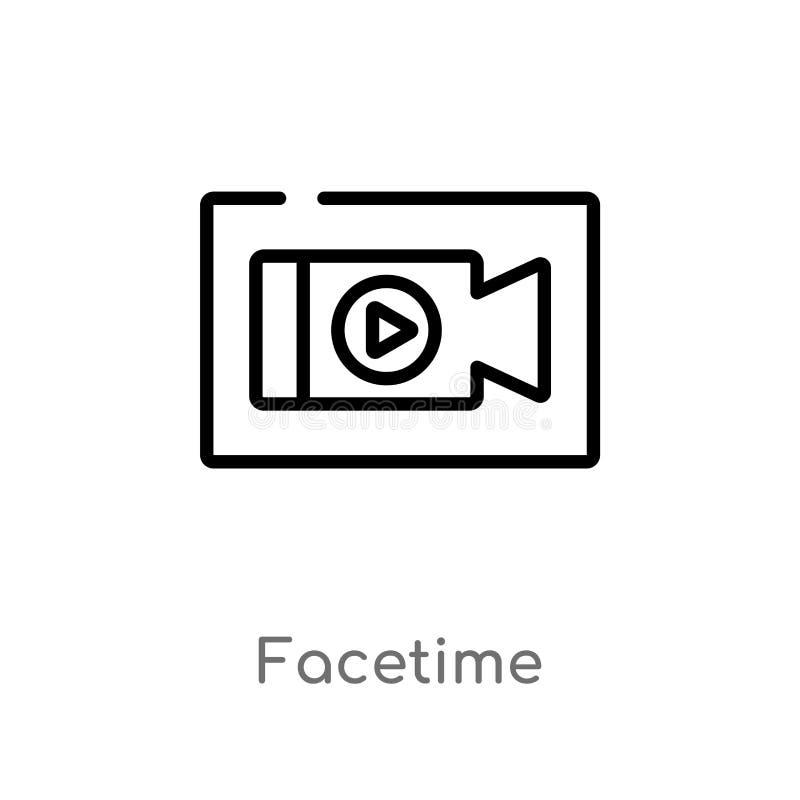 Facetime Stock Illustrations 317 Facetime Stock Illustrations Vectors Clipart Dreamstime