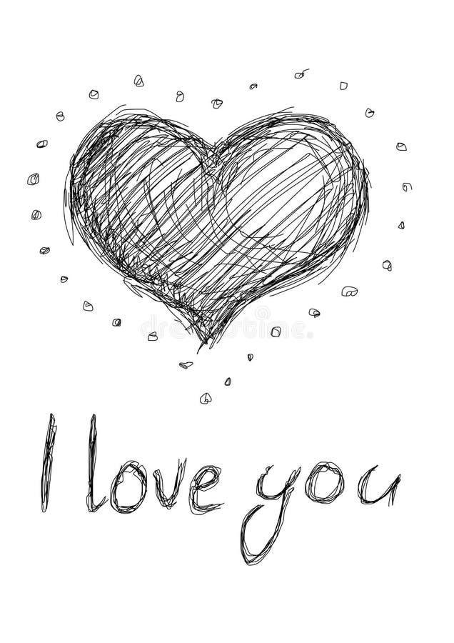Download Outline Heart - Illustration Stock Vector - Image: 22401699