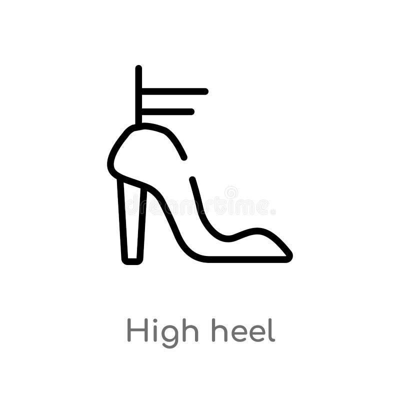 f83117cc4d3 High Heel Vector Stock Illustrations – 7,194 High Heel Vector Stock ...