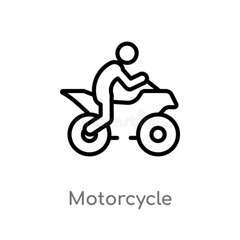 Motorcycle Vector Black Stock Illustrations 9 964 Motorcycle
