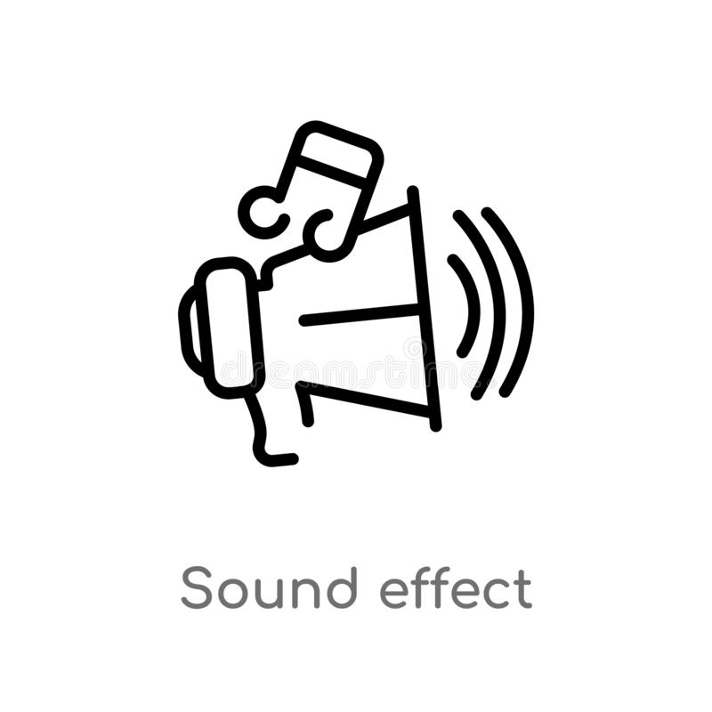 Sound Effect Stock Illustrations – 19,642 Sound Effect Stock