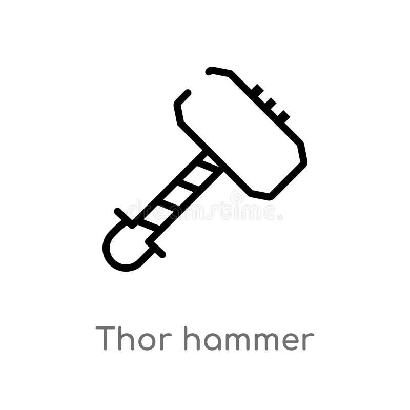Vector Illustration Hammer: Hammer Of Thor Isometric Stock Vector. Illustration Of