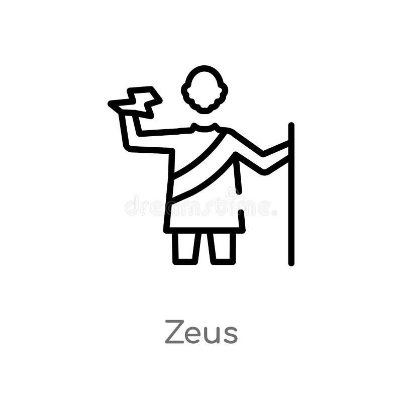 Line Zeus Stock Illustrations 231 Line Zeus Stock